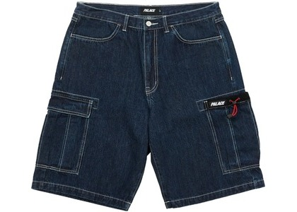 Palace Drawcord Pocket Denim Shorts Indigo (SS21)の写真