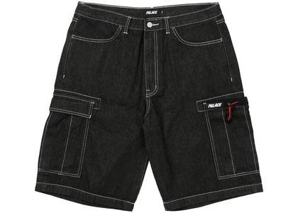 Palace Drawcord Pocket Denim Shorts Black (SS21)の写真