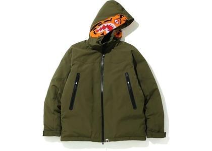 Bape Tiger Hoodie Down Jacket Olivedrab (FW20)の写真
