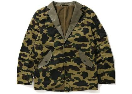 Bape 1st Camo Military Tailored Jacket Green (FW20)の写真