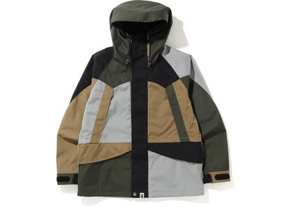 Bape Color Block Cordura Snowboard Jacket Multi (FW20)の写真