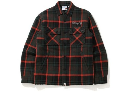 Bape Check CPO Jacket Black (FW20)の写真