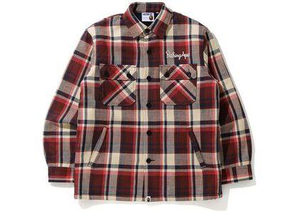 Bape Check CPO Jacket Red (FW20)の写真