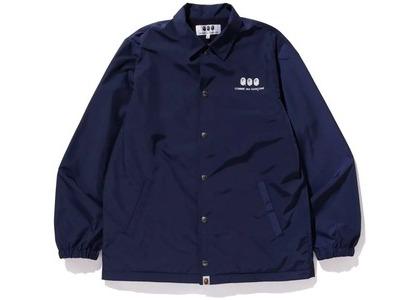 Bape x CDG Osaka Coach Jacket Navy (FW20)の写真