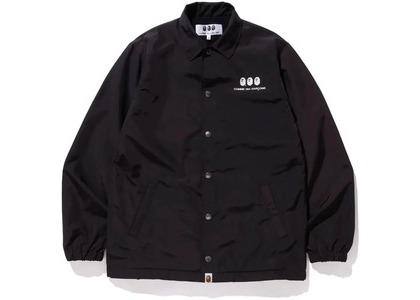 Bape x CDG Osaka Coach Jacket Black (FW20)の写真