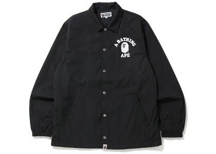 Bape College Coach Jacket (FW20) Black (FW20)の写真