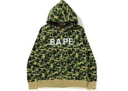 Bape ABC Camo Bape Swarvoski Full Zip Hoodie Green (FW20)の写真