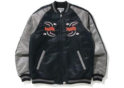 Bape Shark Souvenir Jacket Black (FW20)の写真