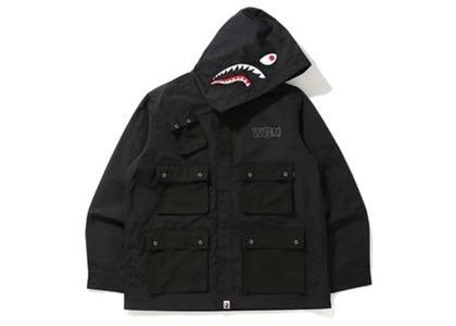 Bape Shark Multi Pocket Wide Jacket Black (FW20)の写真