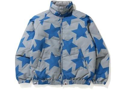 Bape STA Pattern Down Jacket Gray (FW20)の写真