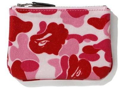 Bape ABC Canvas (S) Wallet Pink (FW20)の写真