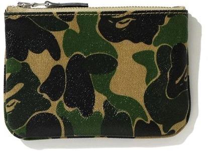 Bape ABC Canvas (S) Wallet Green (FW20)の写真