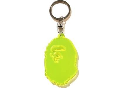 Bape Ape Head Reflective Keychain (FW20) Yellow (FW20)の写真