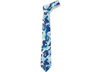 Bape ABC Tie (FW20) Blue (FW20)の写真