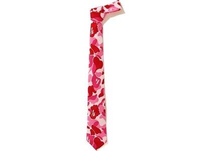 Bape ABC Tie (FW20) Pink (FW20)の写真