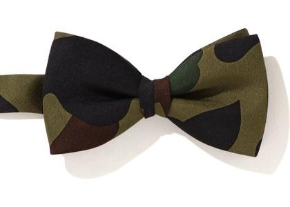 Bape 1st Camo Bow Tie (FW20) Green (FW20)の写真