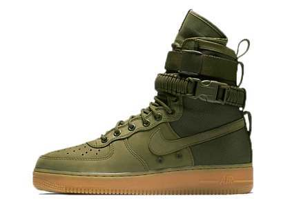Nike SF Air Force 1 Faded Olive の写真