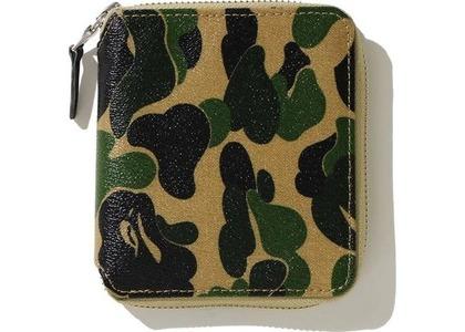Bape ABC Canvas (M) Wallet Green (FW20)の写真