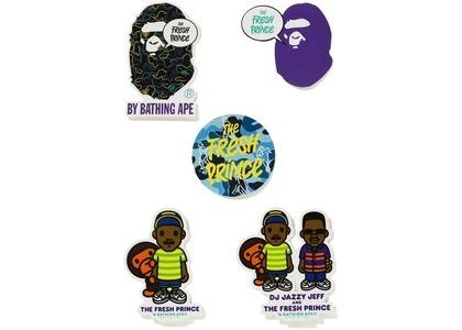 Bape x The Fresh Prince Sticker Set Multi (FW20)の写真