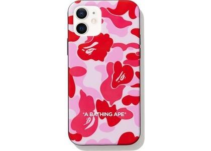 Bape ABC Camo iPhone 12 Case Pink (FW20)の写真