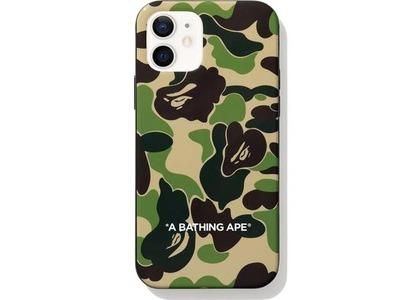 Bape ABC Camo iPhone 12 Case Green (FW20)の写真