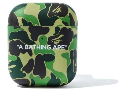 Bape ABC Camo Airpods Case Green (FW20)の写真