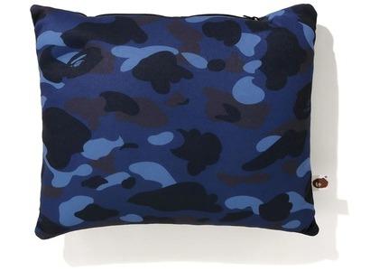 Bape Color Camo 2Way Neck Pillow Navy (FW20)の写真