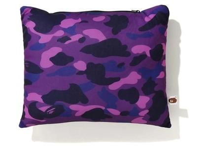 Bape Color Camo 2Way Neck Pillow Purple (FW20)の写真