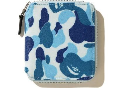 Bape ABC Canvas (M) Wallet Blue (FW20)の写真