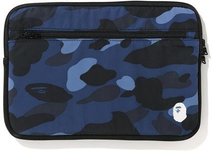 Bape Color Camo PC Case 13in Navy (FW20)の写真