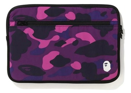 Bape Color Camo PC Case 13in Purple (FW20)の写真