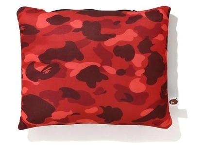 Bape Color Camo 2Way Neck Pillow Red (FW20)の写真