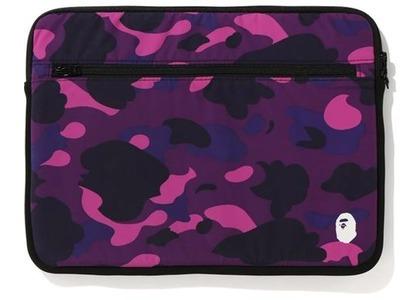 Bape Color Camo PC Case 15in Purple (FW20)の写真