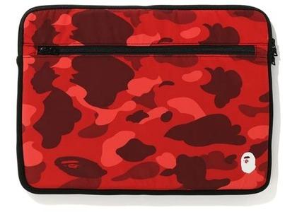 Bape Color Camo PC Case 15in Red (FW20)の写真