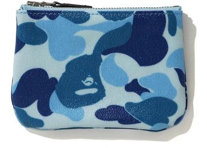 Bape ABC Canvas (S) Wallet Blue (FW20)の写真