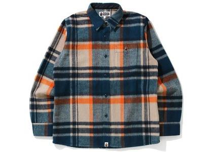 Bape Check Shirt Beige (FW20)の写真