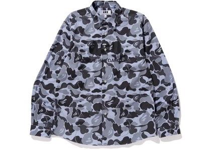 Bape x CDG Osaka Shirt #1 Blue (FW20)の写真