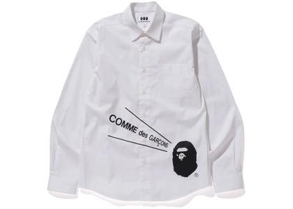Bape x CDG Osaka Shirt #2 White (FW20)の写真