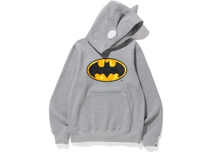 Bape x DC Batman Pullover Hoodie Gray (FW20)の写真