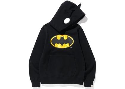 Bape x DC Batman Pullover Hoodie Black (FW20)の写真