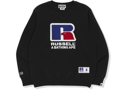 Bape x Russell Crewneck Black (FW20)の写真