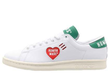 Human Made × Adidas Stan Smith White Greenの写真