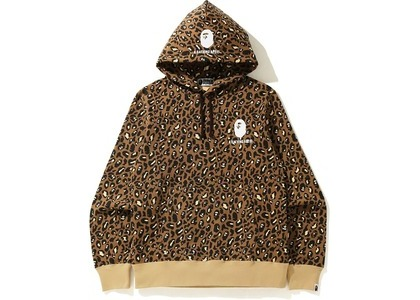 Bape Leopard Pullover Hoodie Beige (FW20)の写真