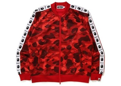 Bape Color Camo Tape Jersey Top Red (FW20)の写真