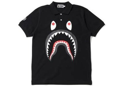 Bape Shark Polo (FW20) Black (FW20)の写真