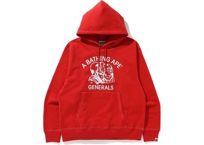 Bape Relaxed Classic General Pullover Hoodie Red (FW20)の写真