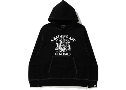 Bape Relaxed Classic General Pullover Hoodie Black (FW20)の写真