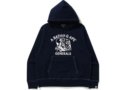 Bape Relaxed Classic General Pullover Hoodie Navy (FW20)の写真