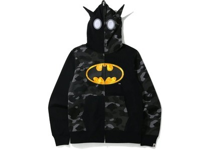 Bape x DC Batman Full Zip Hoodie Black (FW20)の写真