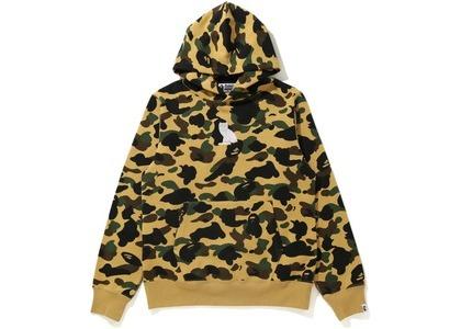 Bape x OVO 1st Camo Pullover Hoodie Yellow (FW20)の写真